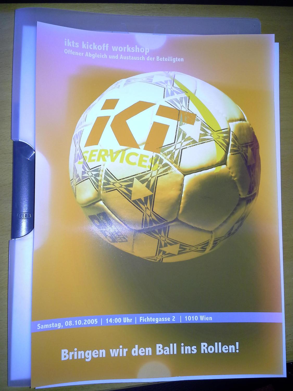 Geschichtliches zum 10-jährigen: IKTS Kickoff